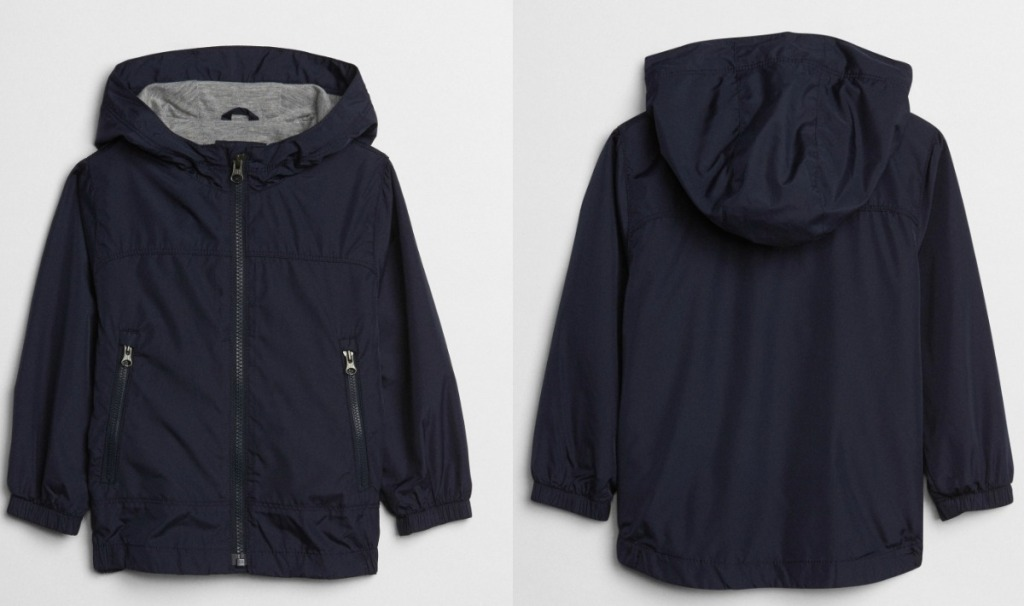 Dark blue Toddler Boys jacket from the Gap
