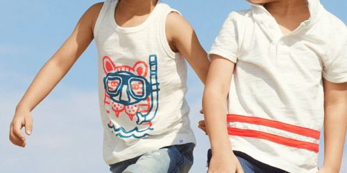 Up to 85% Off Gap Kids Tees, Mickey Mouse Pajamas, Star Wars Shirts & More