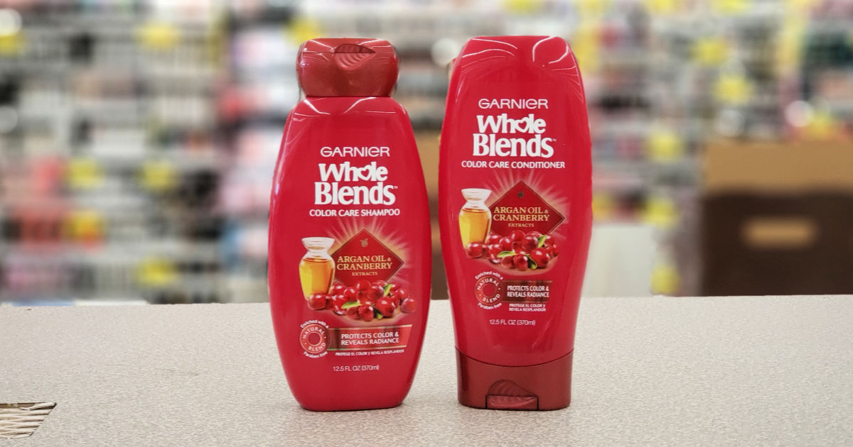 Garnier Whole Blends Shampoo & Conditioner Color Protector in Store