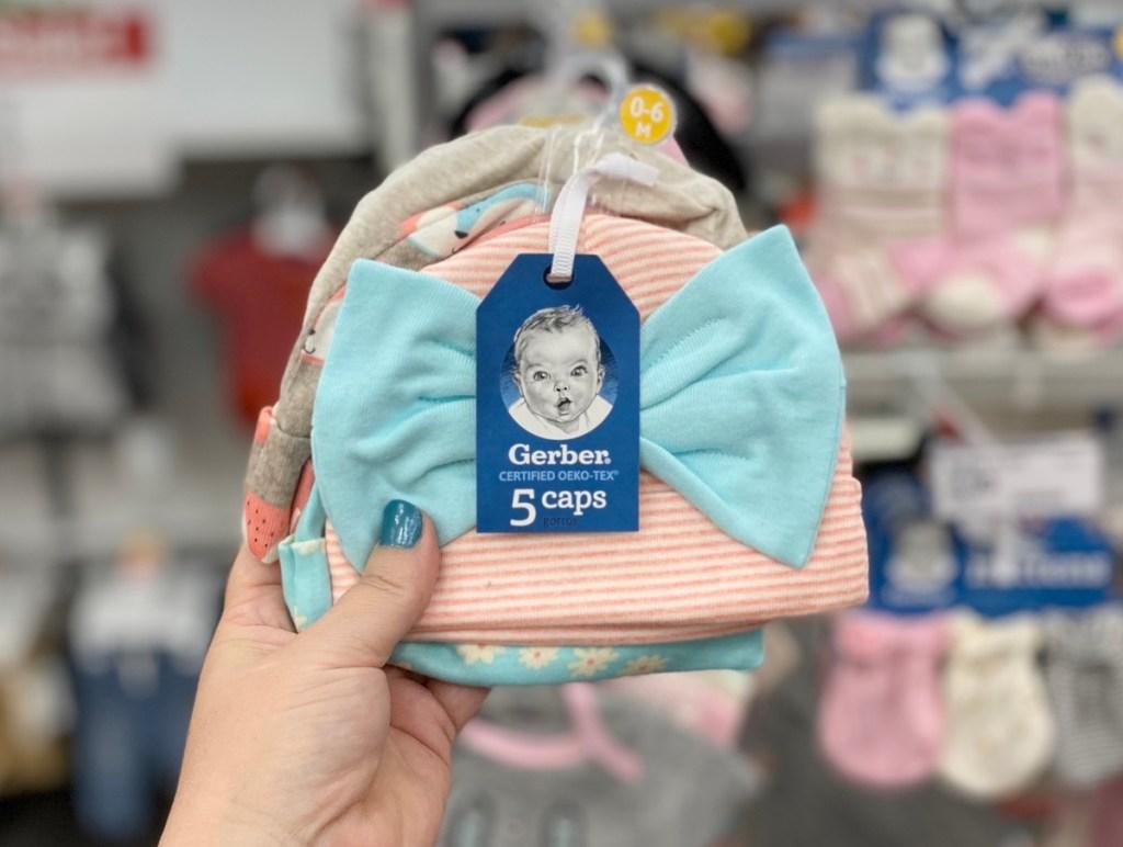 Gerber Baby Girl Hats