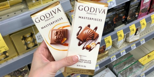 New Godiva Coupon = 50% Off Chocolate Bars at Walgreens (Starting 9/22)