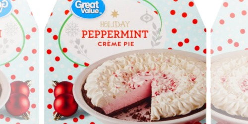 Walmart is Selling Peppermint Creme Pie, Egg Nog Ice Cream & More Sweet Holiday Treats