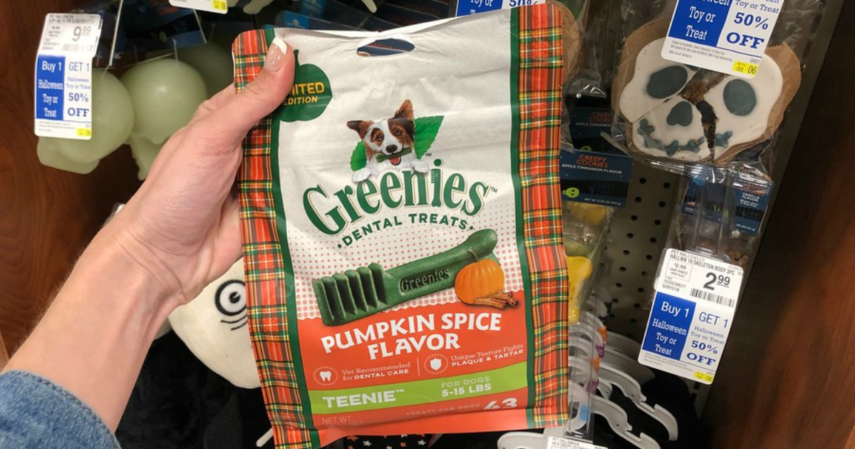 Petsmart Is Selling Pumpkin Spice Flavored Dog Treats They