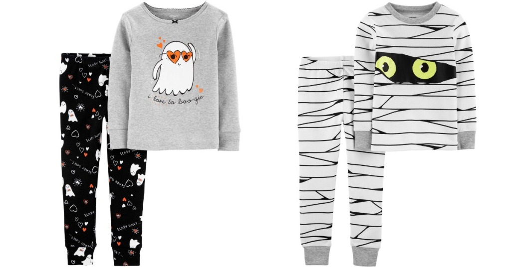 Halloween 2-Piece carter's pajama sets in Zombie and Ghost