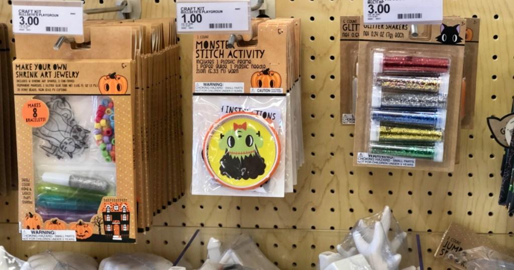 Halloween Arts & Crafts at Target