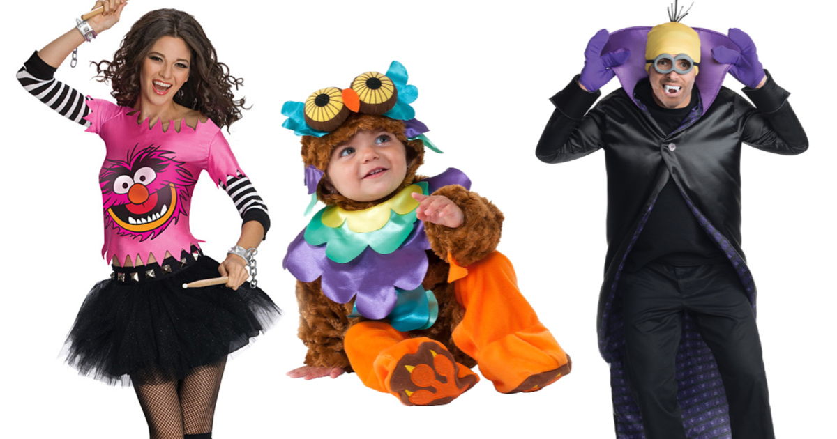 Halloween Costumes for the Entire Family ONLY $4.99 at Zulily (Regularly up to $60)
