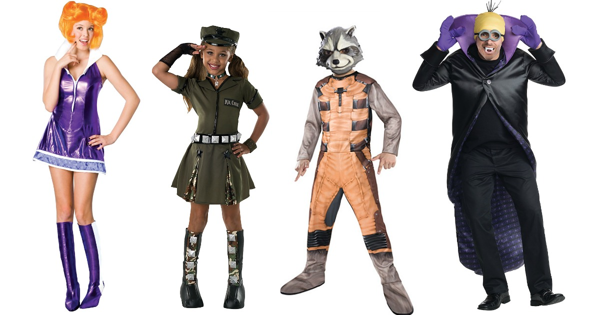 Halloween Costumes for the Family Under $5 at Zulily (Regularly up to $60)