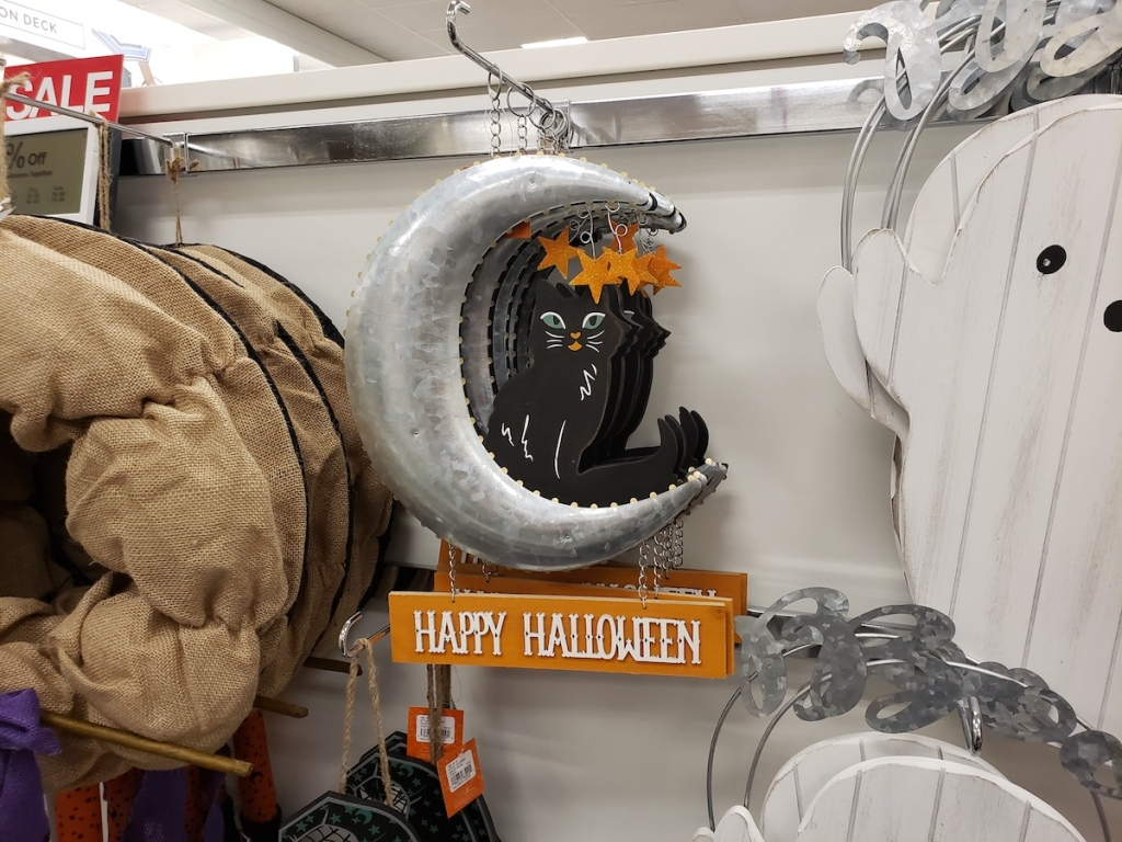 Halloween Iron Metal Moon Wall Decor at Kohl's
