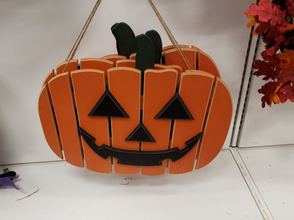 Halloween Jack-o'-Lantern Wall Decor at kohls