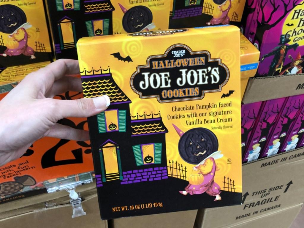 Halloween Joe Joe's Cookies at Trader Joe's