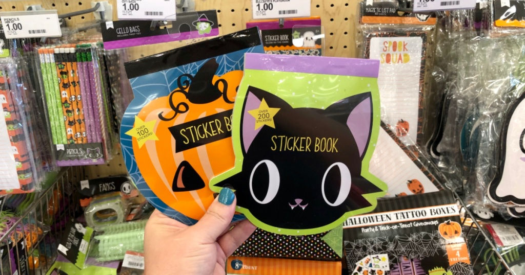 Halloween Sticker Books at Target
