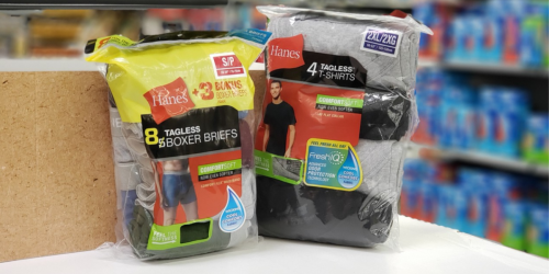 Hanes Men's Pocket T-Shirts 4-Pack Only $7.97 at Amazon (Regularly $16) + More