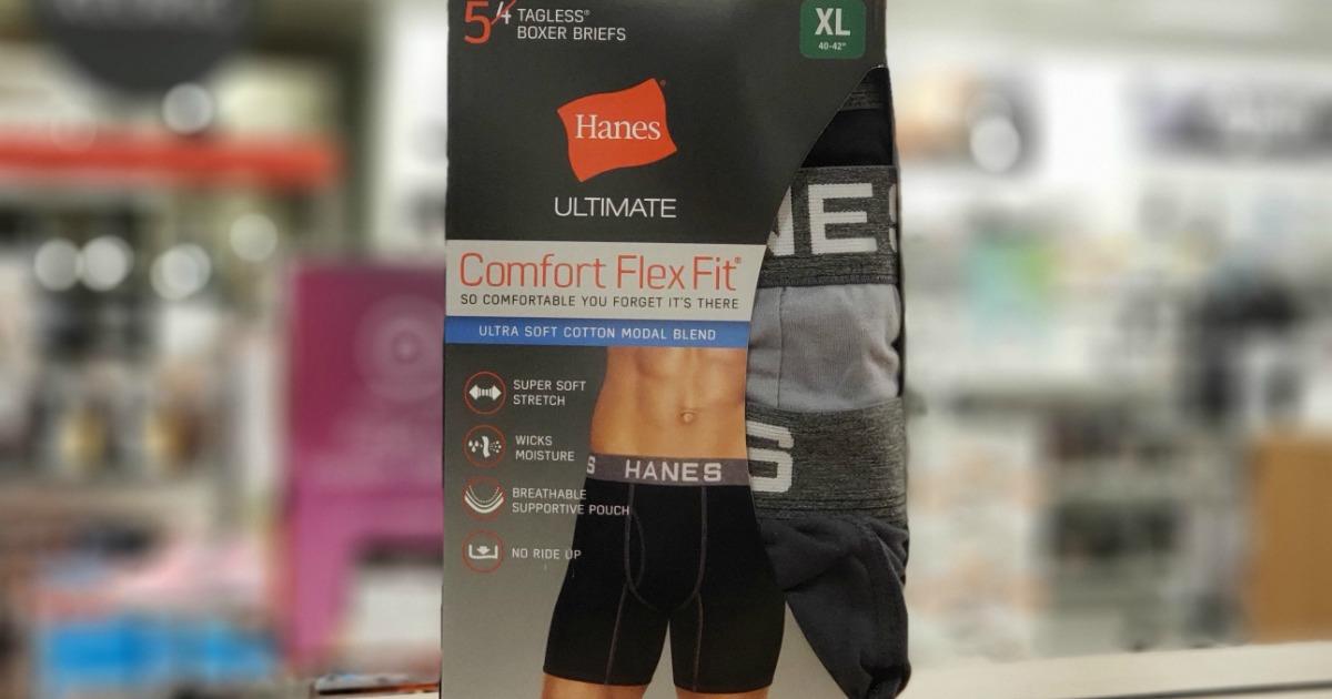 Hanes Comfort Flex Fit Boxers