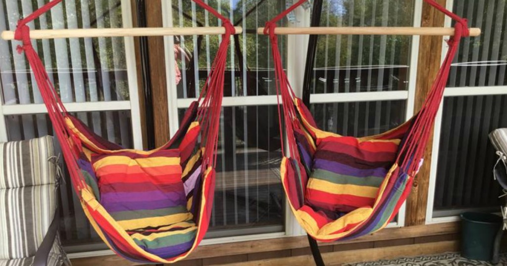 Hanging Hammock Chair Only 24 99 Shipped Regularly 56 Hip2save
