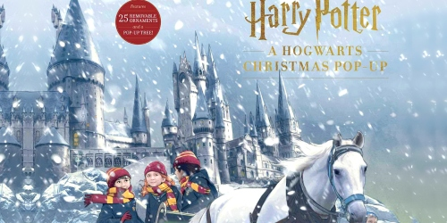 This Harry Potter Hogwarts Pop-Up Book is Also an Advent Calendar – And It's Available for Pre-Order