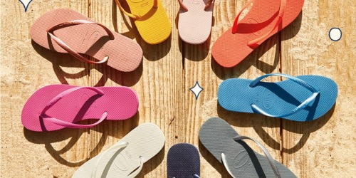 Up to 60% Off Havaianas Sandals for the Family at Zulily | Prices Start at $9.99