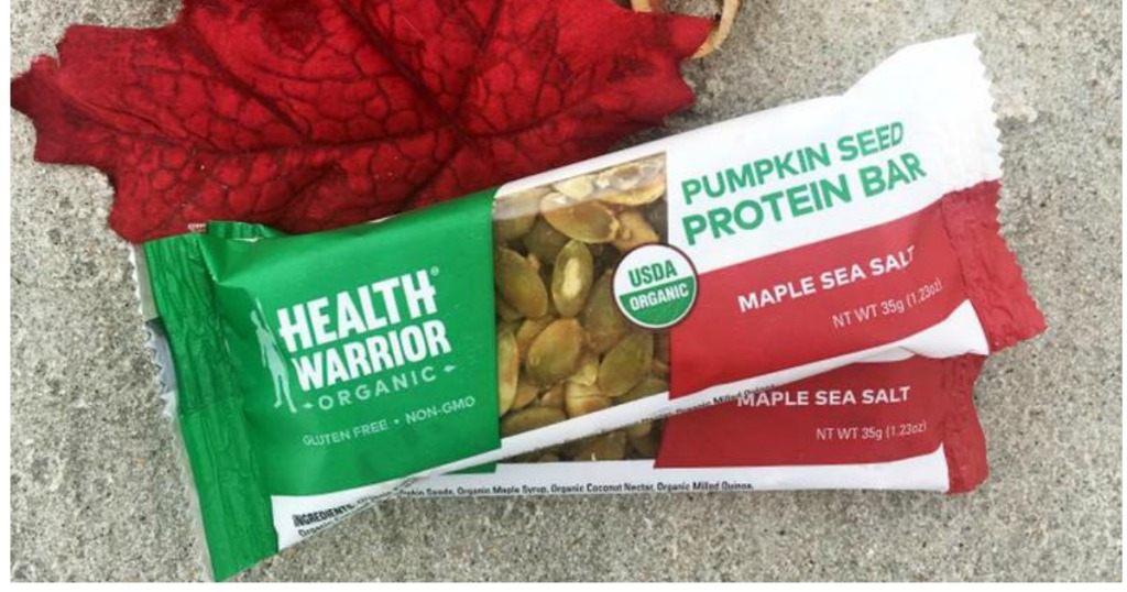 Health Warrior Pumpkin Seed Protein Bar