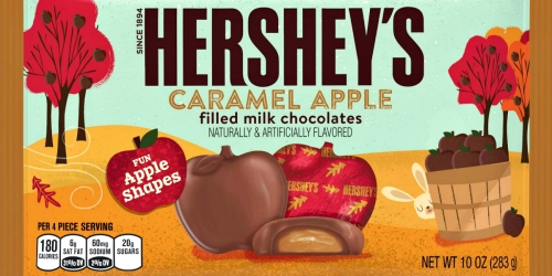 Hershey's Caramel Apple Filled Milk Chocolates Are Back for Fall