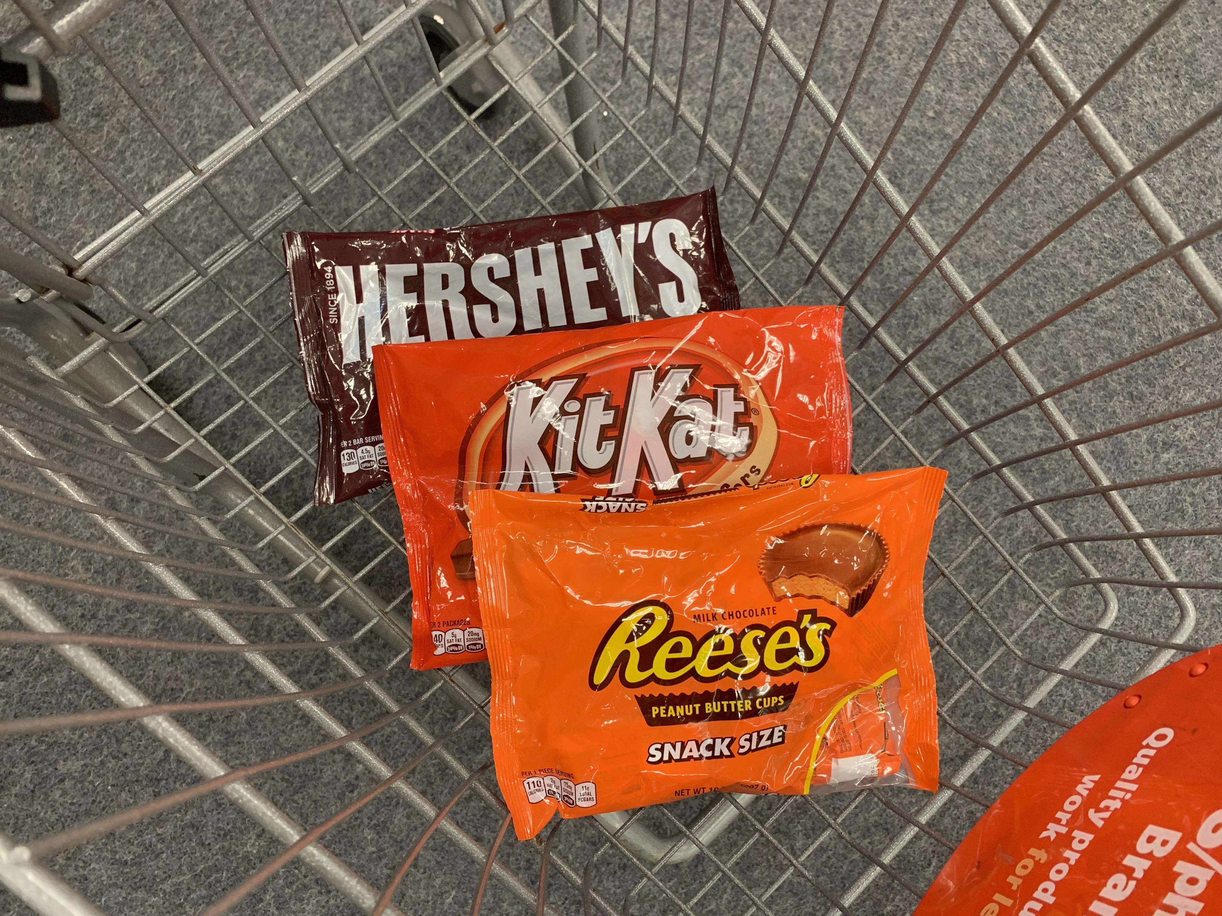 Hershey's Snack Size Chocolates