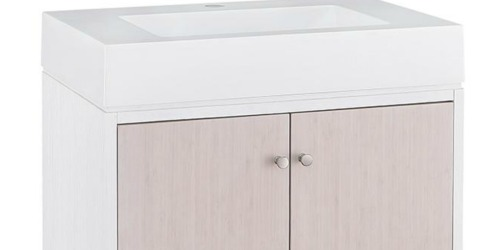 Up to 80% Off Bathroom Vanities at The Home Depot