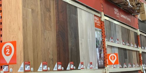 Up to 30% Off Hardwood Flooring + Free Shipping at Home Depot
