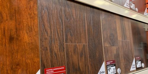Laminate & Hardwood Flooring as Low as 58¢ Per Square Foot Shipped at Home Depot