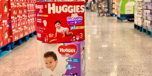 Huggies Plus Diapers HUGE Boxes as Low as $30.99 Shipped at Costco