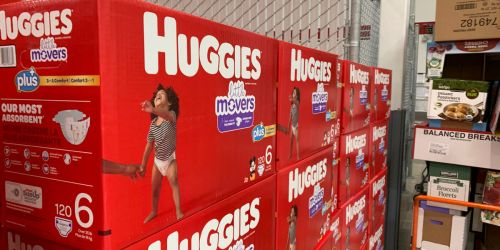 $30 Off 3 Huggies Items at Costco = Diaper Boxes from $19.99 Each Shipped