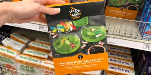 Halloween Food Kits at Target | Mad Scientist, Monster Bites, & More