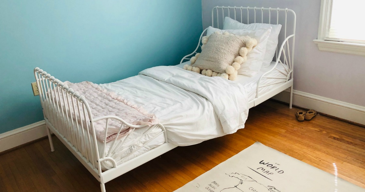 Double Size Bed Frame Ikea, Ikea Hemnes Queen Bed Frame Review