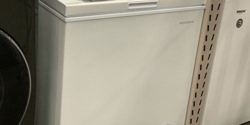 Insignia Chest Freezer Only $119.99 (Regularly $180)