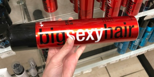 Large Bottles of Hairspray at JCPenney Just $8.99 | Big Sexy Hair, Matrix & More