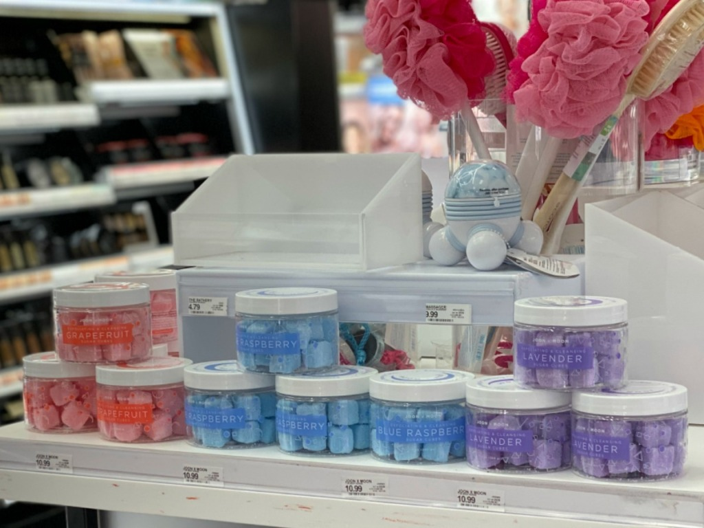 Joon x Moon Sugar Cubes on Target beauty shelf