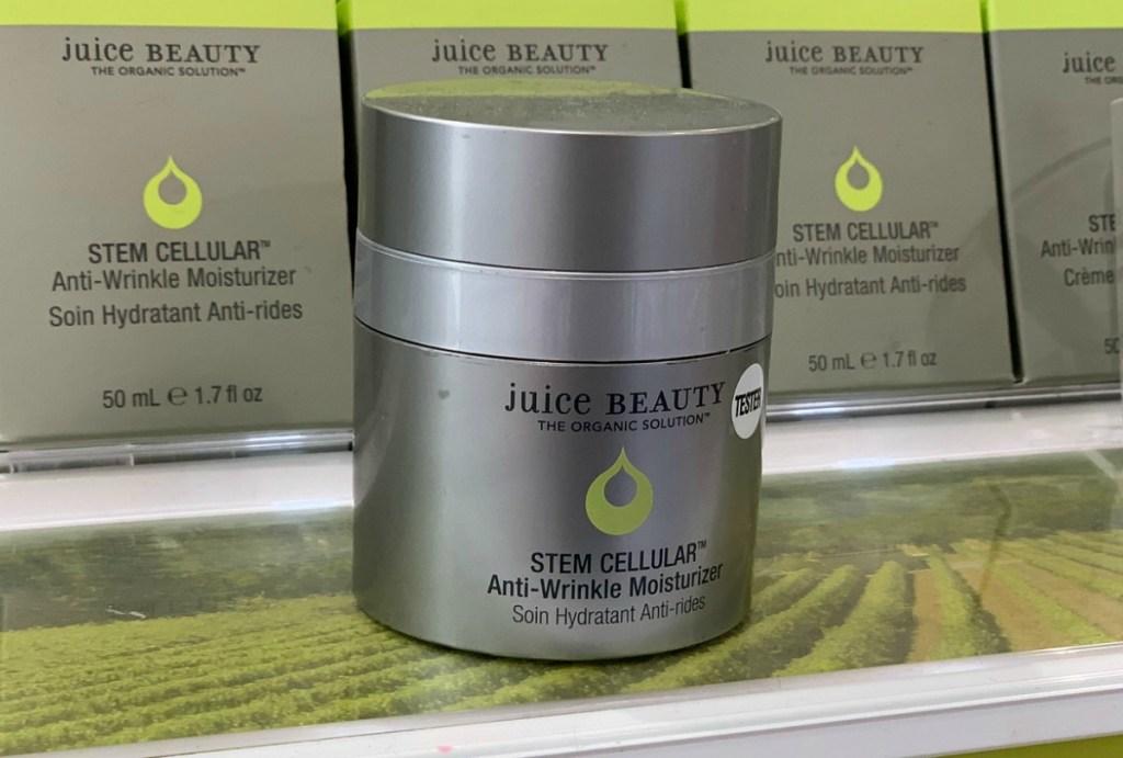 Juice Beauty Moisturizer on display in-store at ULTA