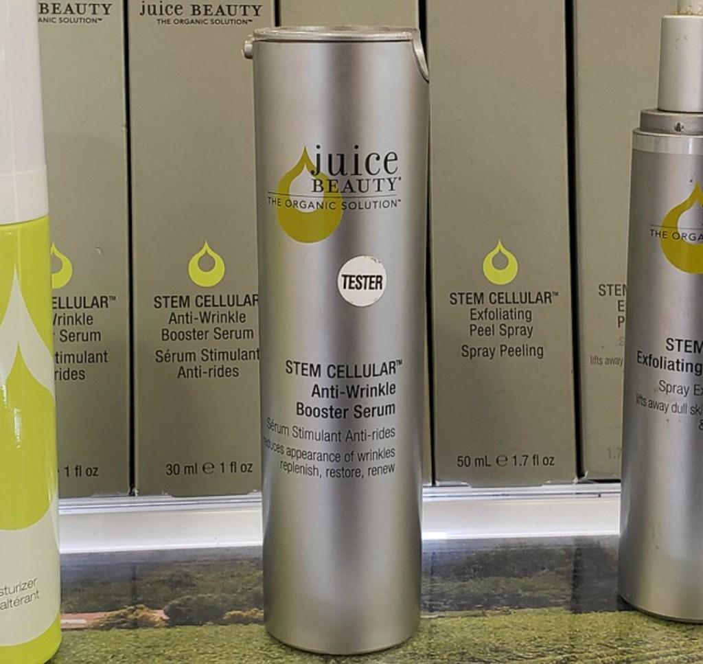 Juice Beauty Serum Tester on display in-store at ULTA