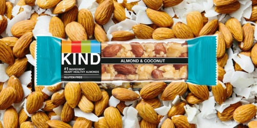 KIND Almond & Coconut Bars 12-Pack Only $9.55 Shipped on Amazon | Just 80¢ Per Bar