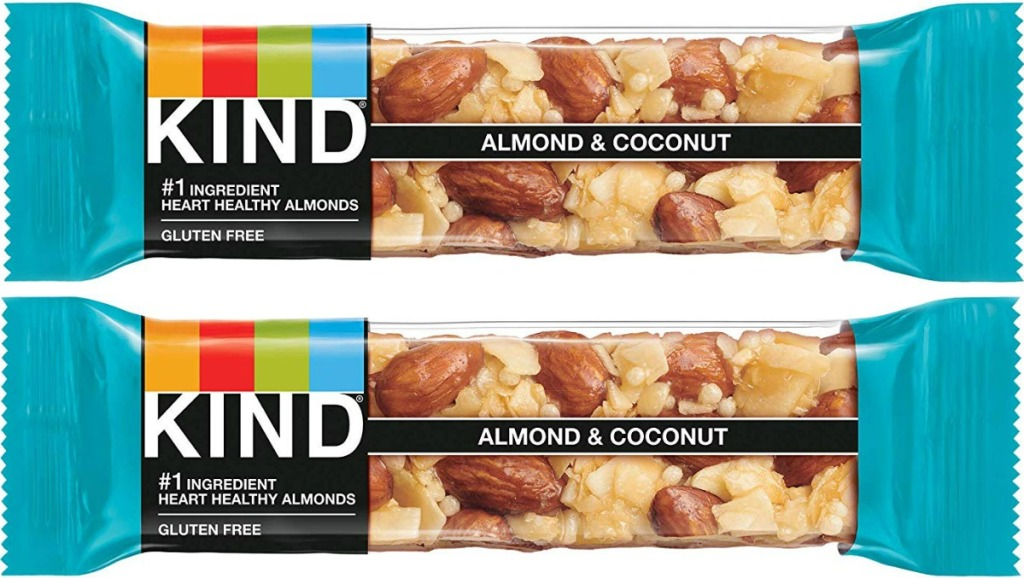 KIND bars in almond coconut flavor