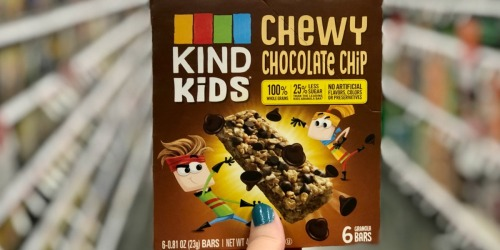 KIND Kids Chewy Bars 6-Pack Just $2.62 Each at Target + More