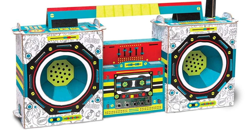 kids maker lab radio boombox