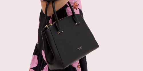 Kate Spade Sydney Small Double-Zip Satchel Only $129 Shipped (Regularly $298)