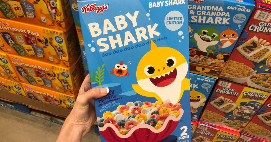 Kellogg's Baby Shark Cereal at sam's club