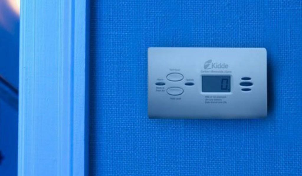 Kidde brand carbon monoxide alarm