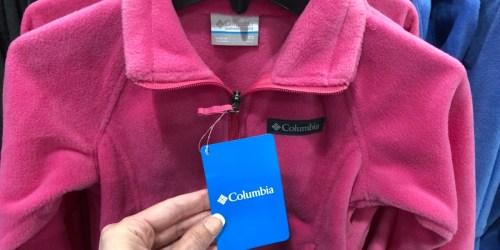 Columbia Kids Fleece Jackets as Low as $7.98 + FREE Shipping