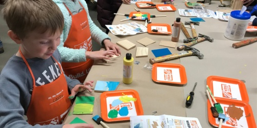Register Now for Free Home Depot Kids Workshop on November 2nd | Build an American Eagle