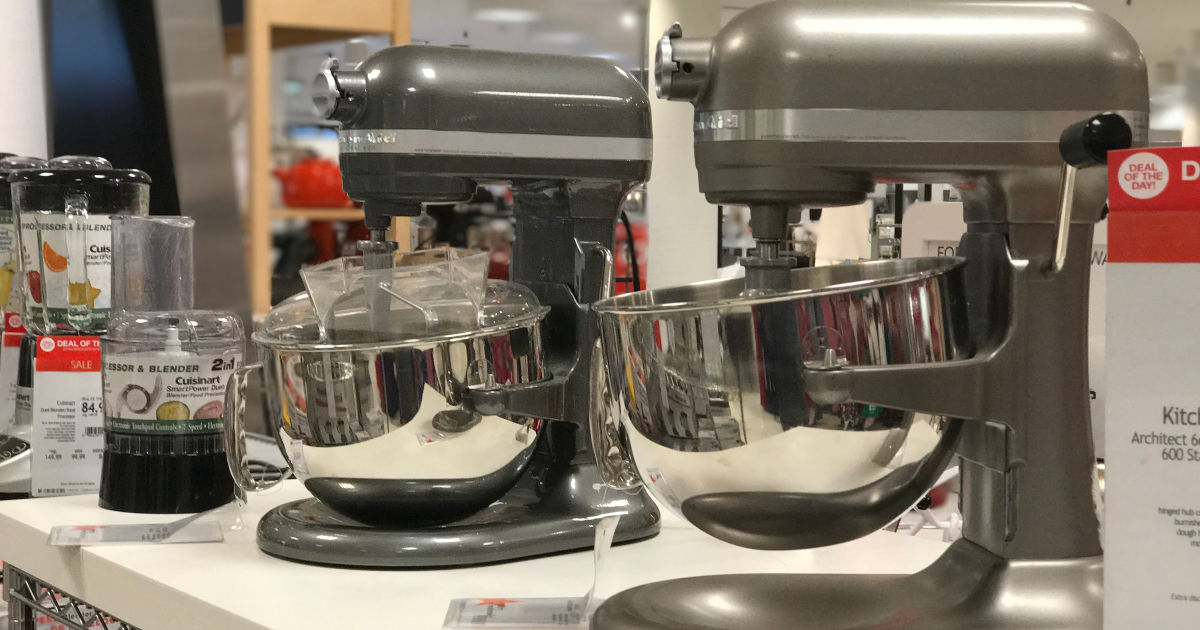 KitchenAid 6-Quart Bowl-Lift Professional Stand Mixer on display