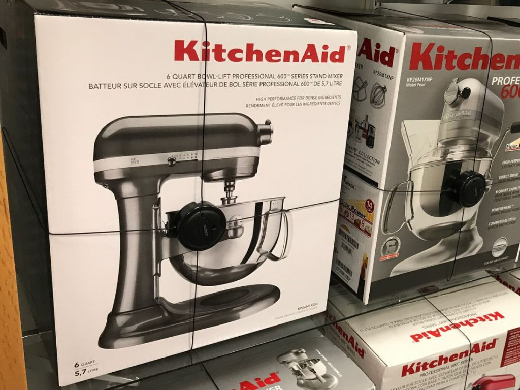 KitchenAid 6-Quart Bowl-Lift Professional Stand Mixer Only ...