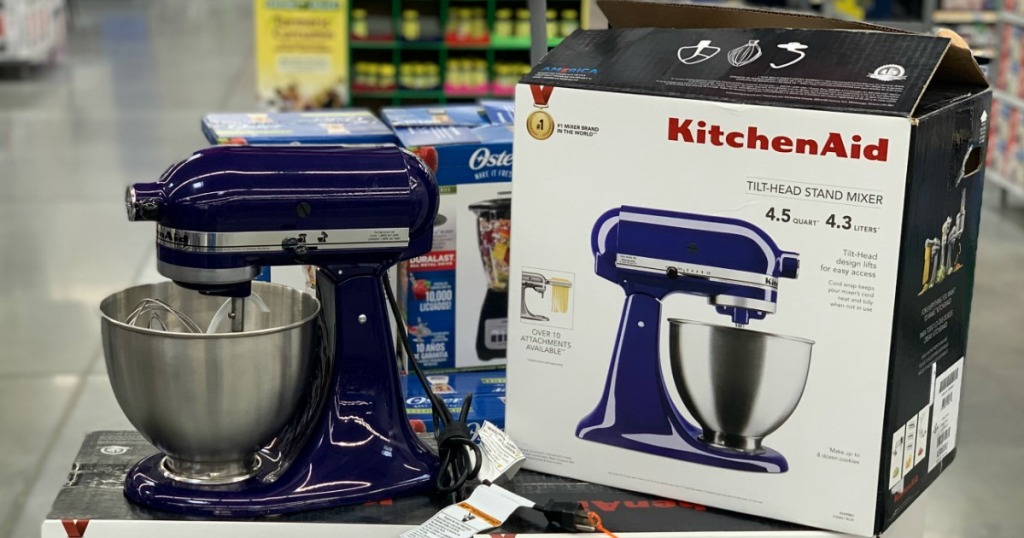KitchenAid Deluxe 4.5-Quart Tilt Head Mixer Possibly Only ...