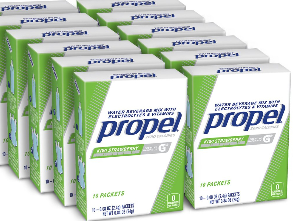 Propel Powder Packets Kiwi Strawberry