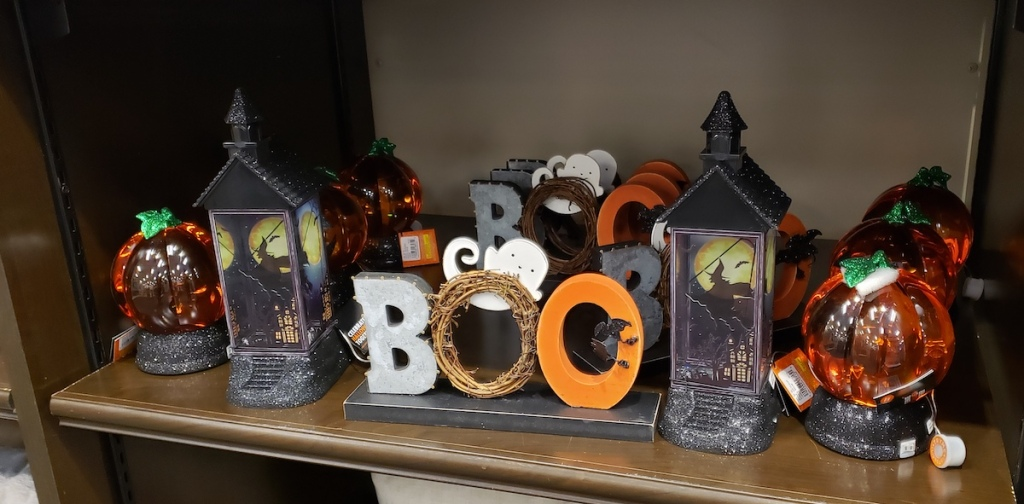 Kohl's Halloween Decor