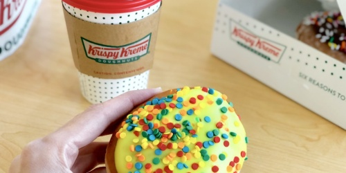 September 29 Only: Get ANY Doughnut FREE Plus FREE Coffee at Krispy Kreme!